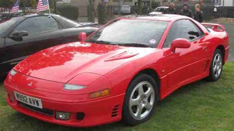 mitsubishi gto 1995 3 0ltr v6 non turbo red car for sale