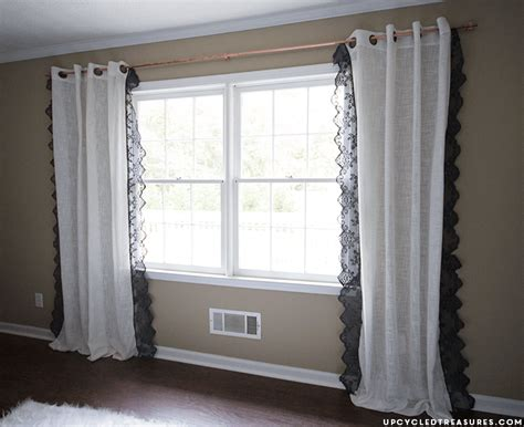 drape runner 15 easy ways to make your own curtains