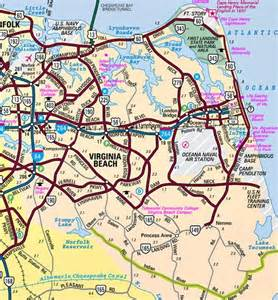 Map Of Virginia Beach Va by Virginia Beach Va Directions Travel Map Satellite Roads