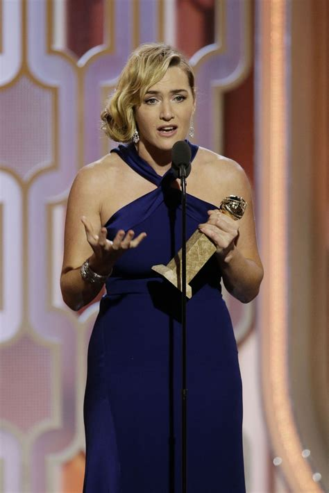 Kate Winslet At The Golden Globes by Kate Winslet 73rd Annual Golden Globe Awards In Beverly