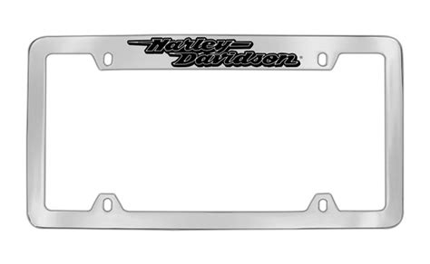 Frame Lf 2187 Pg harley davidson shadow script license plate frame harley