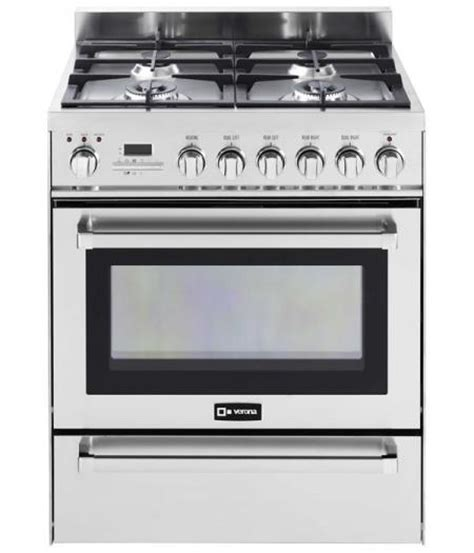 Microwave Verona 30 quot self cleaning dual fuel range with warming drawer verona appliances