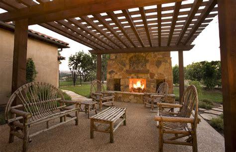 Patio In Italian by Italian Countryside Chateau Patio