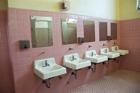 public school bathroom law what happened to the mirrors in our bathrooms shark attack