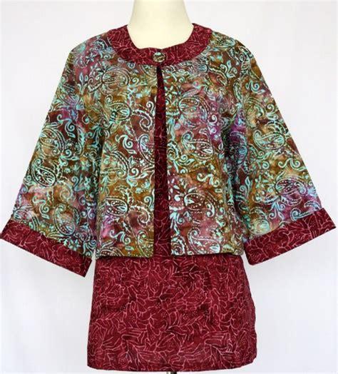 Baju Batik Korset Tali Model Jakarta model baju batik modern sebagai inovasi dunia fashion indonesia