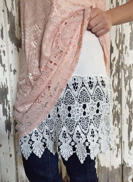 shirt extender pattern new style lace shirt extender clothes pinterest