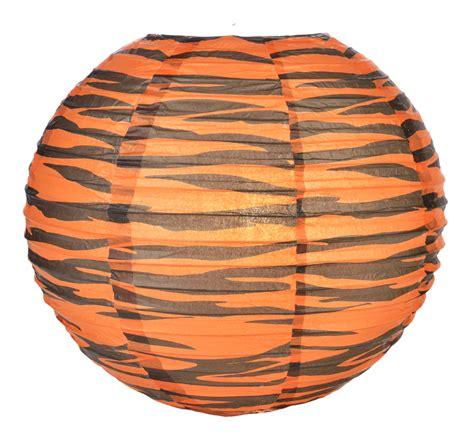 A Paper Lantern - 14 quot tiger print paper lantern
