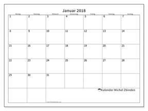 Januar 2018 Kalender Kalender Zum Ausdrucken Januar 2018 Horus Deutschland