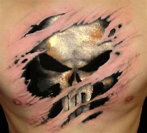 punisher tattoo designs amp ideas with meaning