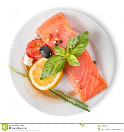 vegetables plate fish fillet with vegetables royalty free stock image