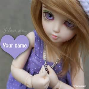 Mothers Necklace With Names Write Your Name On Cute Dolls Picture And Set Your Dp