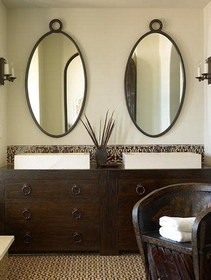 Oval Vanity Mirrors For Bathroom Oval Bathroom Mirrors
