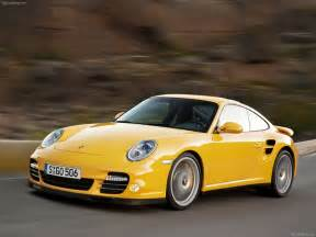 Yellow Porsche 911 2010 Yellow Porsche 911 Turbo Wallpapers