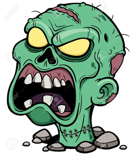imagenes zombies animados dead clipart zombie face pencil and in color dead