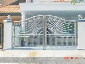 Home Design India by Stainless Steel Gate Sun Burst Ironworks Sdn Bhd