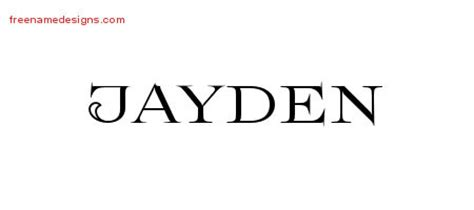 tattoo ideas for the name jayden jayden archives page 2 of 2 free name designs