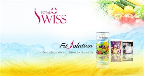 Dijamin Total Fit Solution Suplemen Kesehatan Sel jual total swiss fit solution minuman sehat vitamin nutrisi serat mineral newtopsyne cosmetics