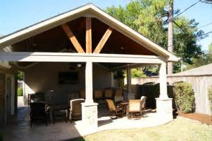 Rustic Covered Patio by Patio Cover In Houston Rustic Patio Houston By
