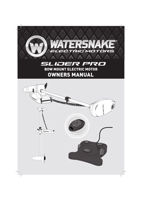 100 wiring diagram for watersnake electric motor