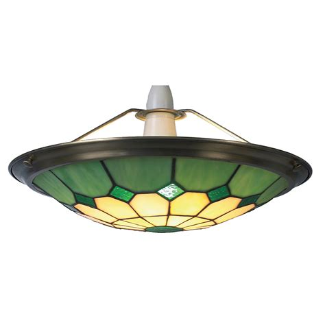 Shade For Ceiling Light Large Bistro Green Ceiling Light Shade Uplighter 41cms