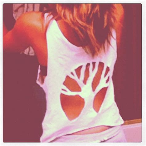 Tshirt Something Out Of tree tank top cut out from foundingyou on etsy gifts