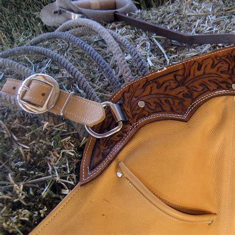 Handmade Chaps - handmade buckskin leather chaps sidewinder chaps feel
