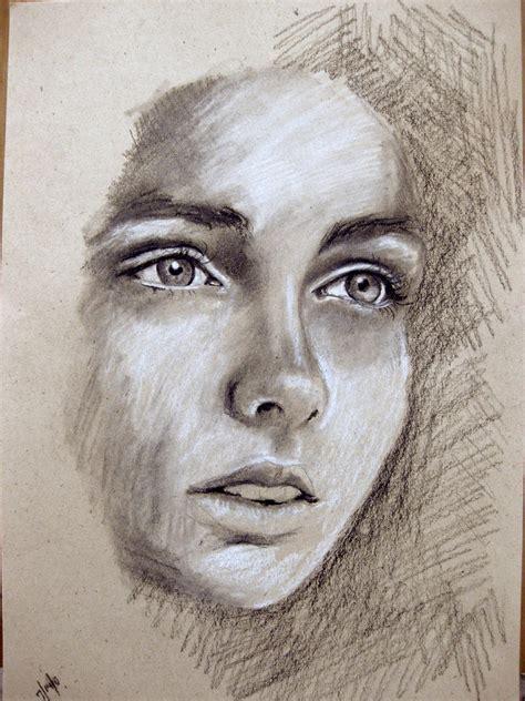 drawing faces sale original drawing original illustration