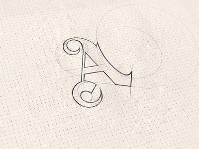 design a logo in sketch sketch logo an an by fancy design dribbble