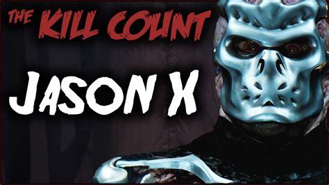 kill count jason x 2001 kill count