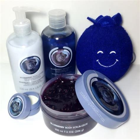 Blueberry Scrub 250ml the shop special edition blueberry range in singapore