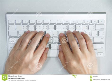 free stock photo hands over keyboard man with hands on computer keyboard stock photo image