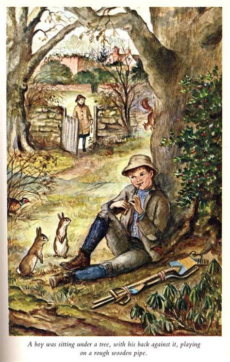 nature names the secret garden baby name blog nameberry illustration by tasha tudor from the secret garden dickon