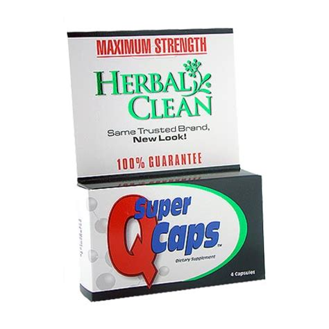 Home Detox For Urine Test by Caps From Herbal Clean