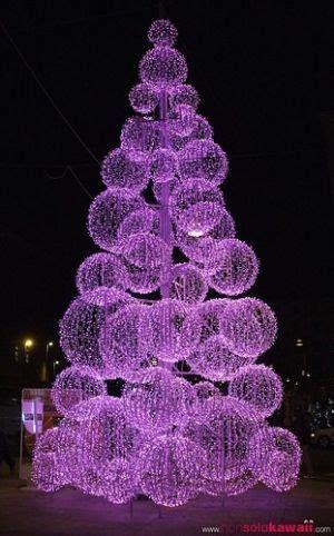 purple led christmas tree purple pinterest