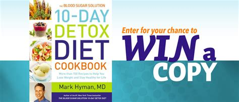 Dr Hyman 10 Day Detox Diet Cookbook by 10 Day Detox Diet Cookbook By Hyman Delinews