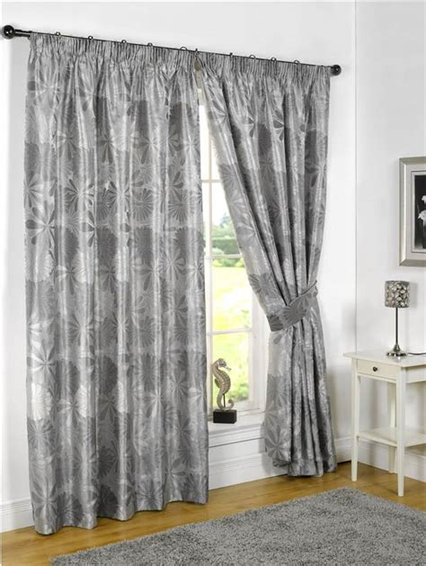 grey silver curtains lined curtains tape top kayleigh silver grey pencil pleat