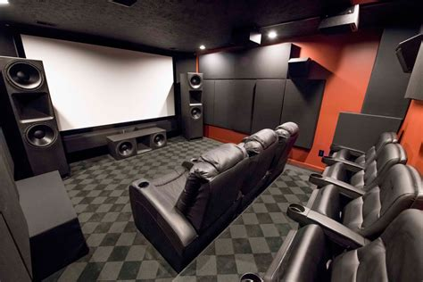 gallery home theater ideas acoustic treatments gik