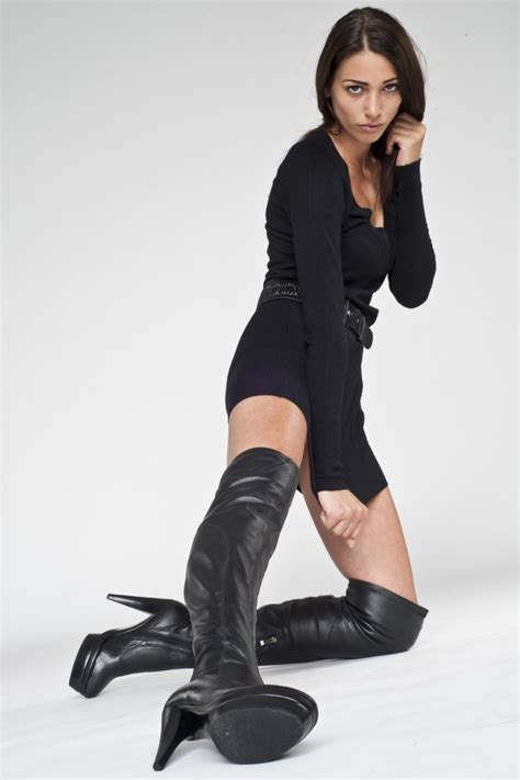 is there anything hotter than in leather overknee boots