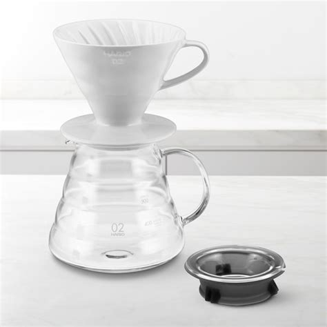 Hario V60 Coffee Server Espresso Maker Pour Kit Vcsd 02r Hario V60 Pour Coffee Kit Williams Sonoma