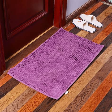 machine washable bathroom carpet kcasa kc 333 40x60cm chenille fine hair soft mat machine washable bathroom anti slip