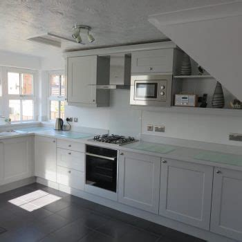 Light Grey Shaker Kitchen Recent Kitchen Projects From Stourbridge Dudley The Surrounding Areas