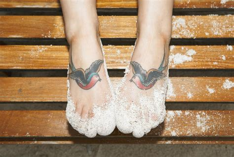 foot tattoo healing foot aftercare and tips