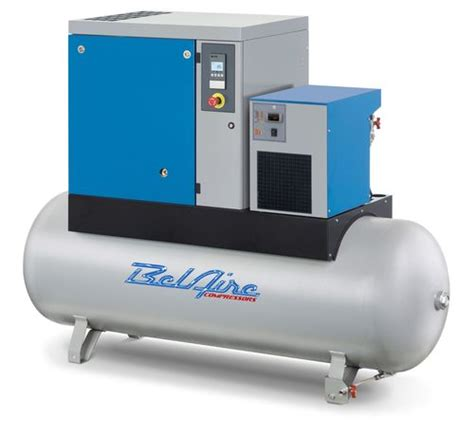 10 hp rotary air compressor with dryer belaire br10253d 10 hp rotary air compressor w dryer