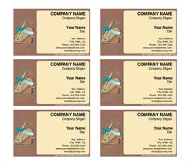 business cards templates word free 15 word business card templates free free
