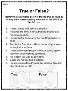 Cesar Chavez Worksheet by Cesar Chavez Worksheets Facialreviveserum