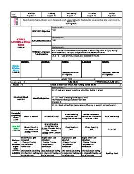 lesson plan template using common standards 1st grade common lesson plan template fractions