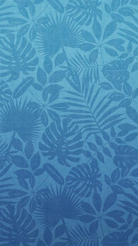 blue pattern wallpaper for iphone blue leaf pattern iphone 5 wallpaper 640x1136