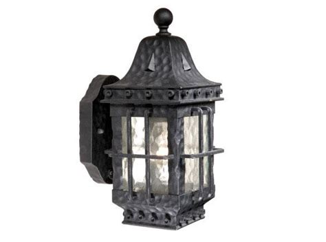 Wrought Iron Outdoor Lighting Fixtures Edinburgh Outdoor Vaxcel Porch Wrought Iron Fixture Landscape Light Ed Owd050tb Ebay