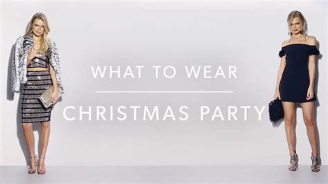 what to wear to a christmas party new look youtube