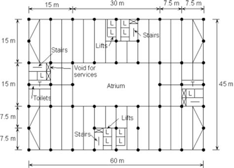 column layout of building multi storey office buildings steelconstruction info